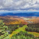 hiking trails in Killington, Vermont