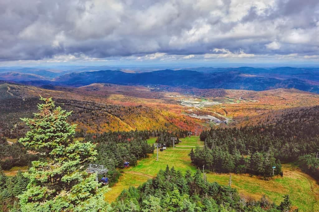hiking trails in Killington, Vermont