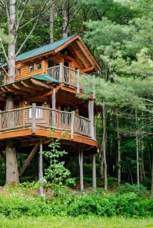 Moose Meadown treehouse - a treehouse rental in Vermont