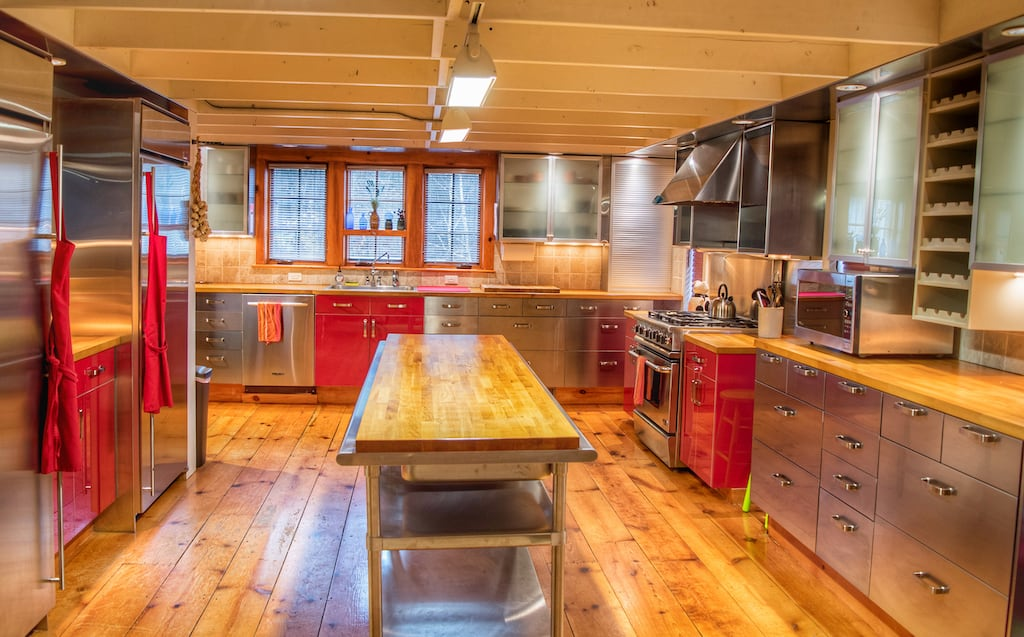 The interior kitchen of our Southern Vermont Vacation Rental