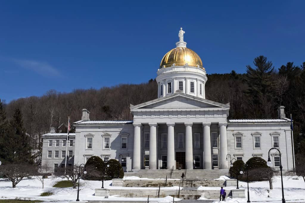 The State House in Montpelier, VT