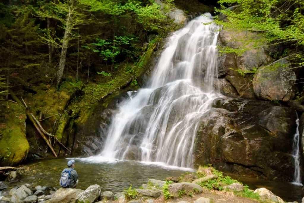 Moss Glen Falls in Granville, Vermont