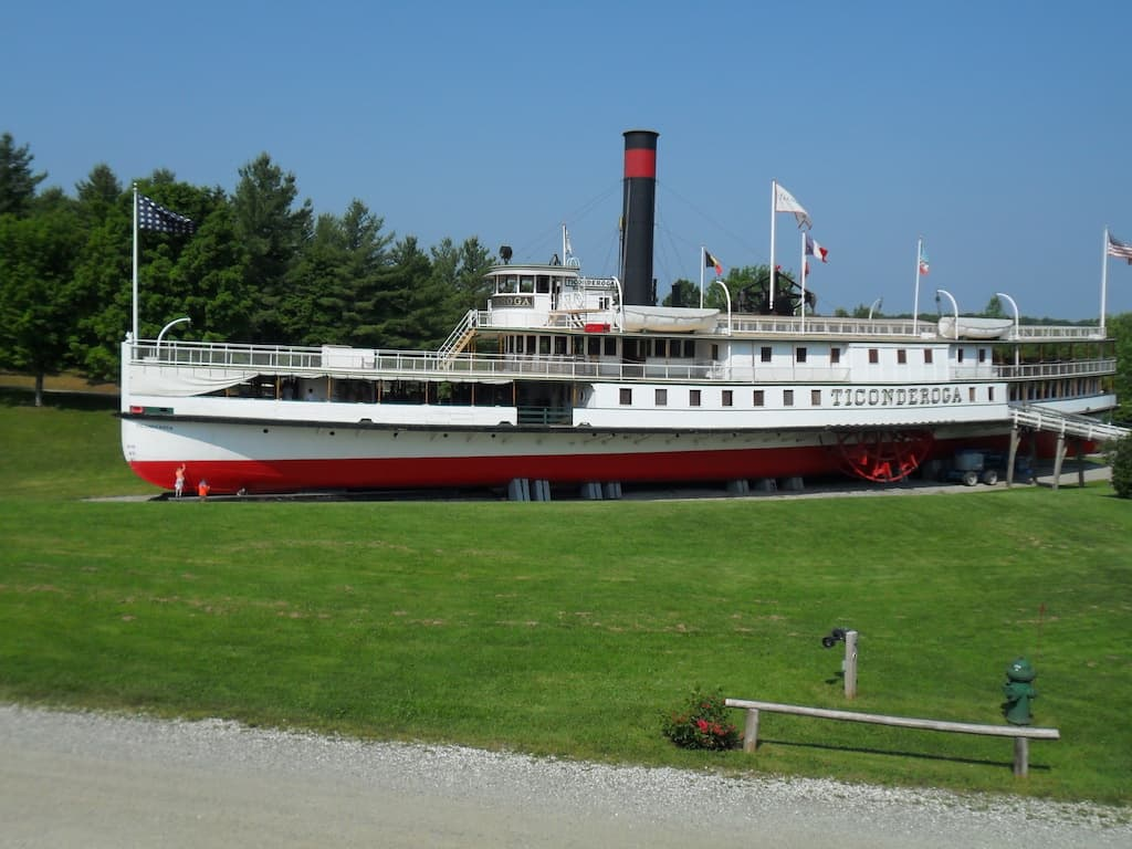 The Ticonderoga at the Shelburne Museum
