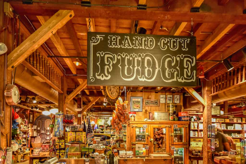 An interior shot of the Vermont Country Store