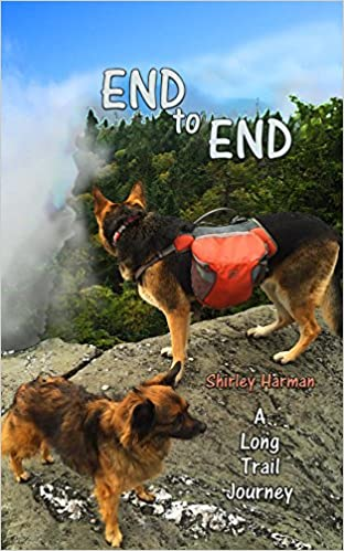 End to End by Shirley Harman book cover.