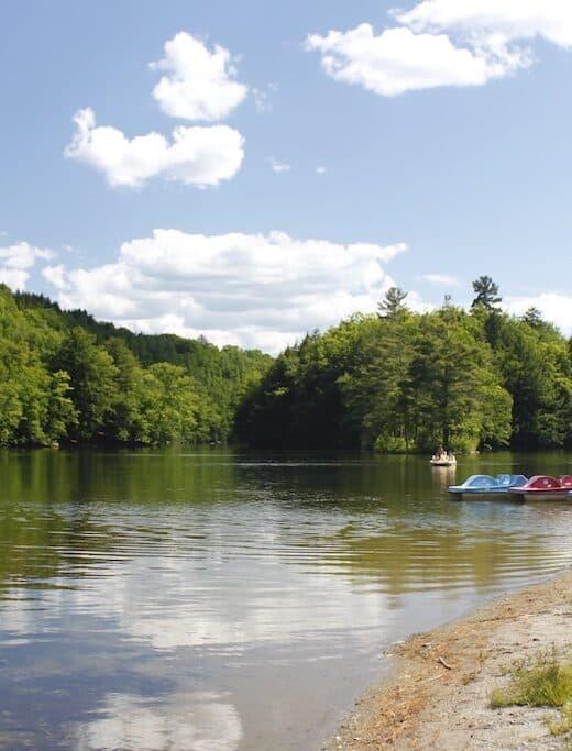 Emerald Lake in Vermont.