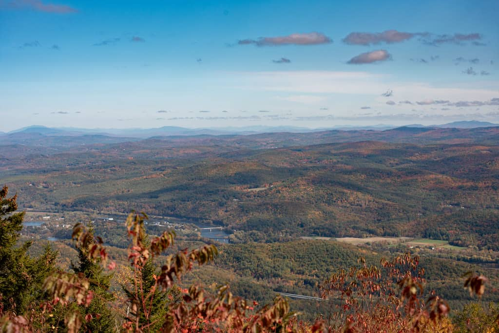 The Connecticut River from a vista on Mt. Ascutney.