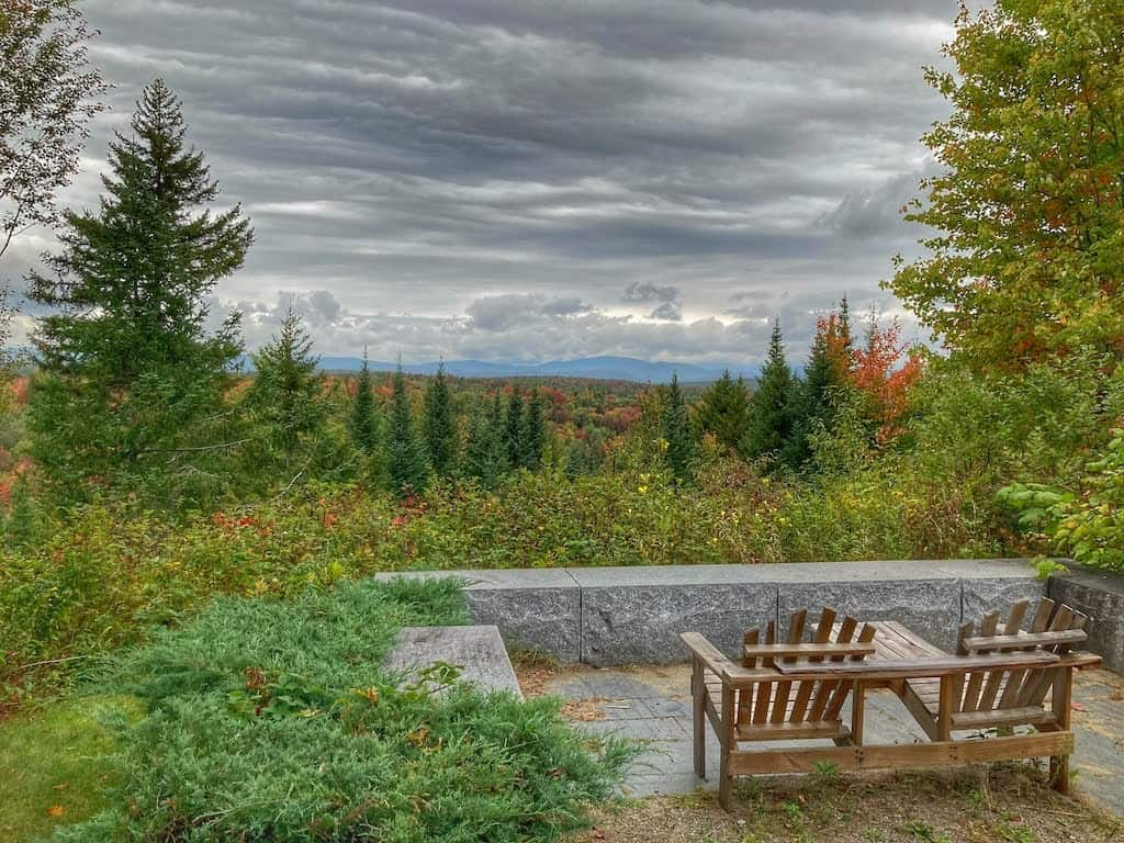 A view from the Silvio O. Conte National Wildlife Visitor Center.